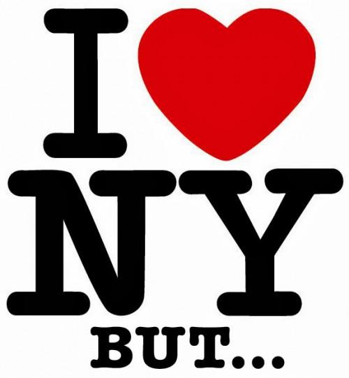 Eu amo Nova York mas…
