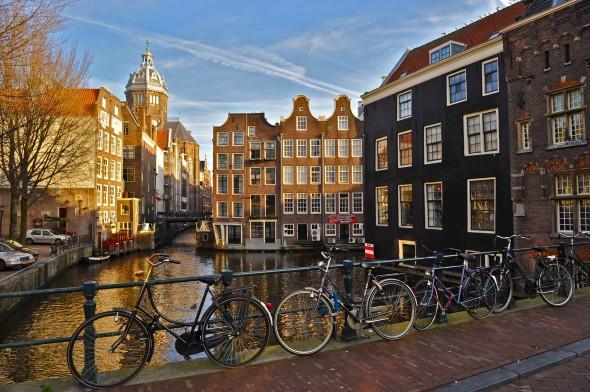 Um dia sozinha em Amsterdam pode ser bem agradável
