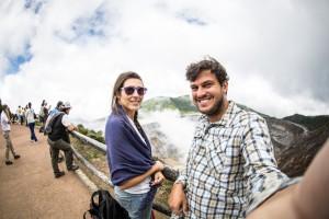 Vulcão na Costa Rica
