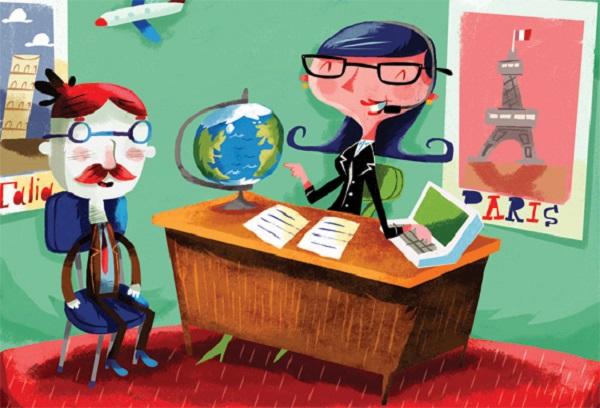 Reservar sua viagem através de agência ou online?