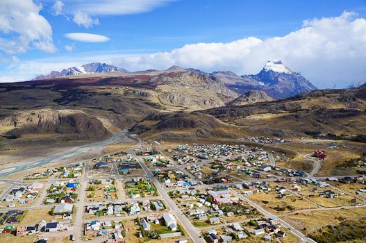 View of El Chaltén, Argentina