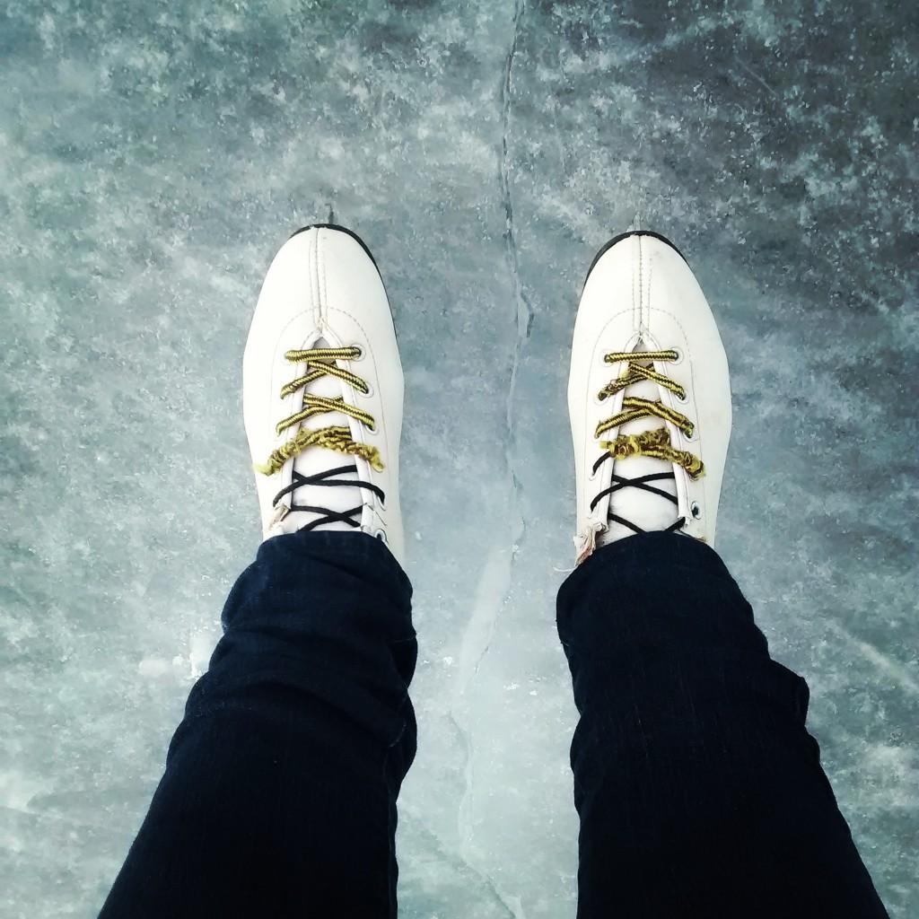 Patinação no gelo em Minneapolis
