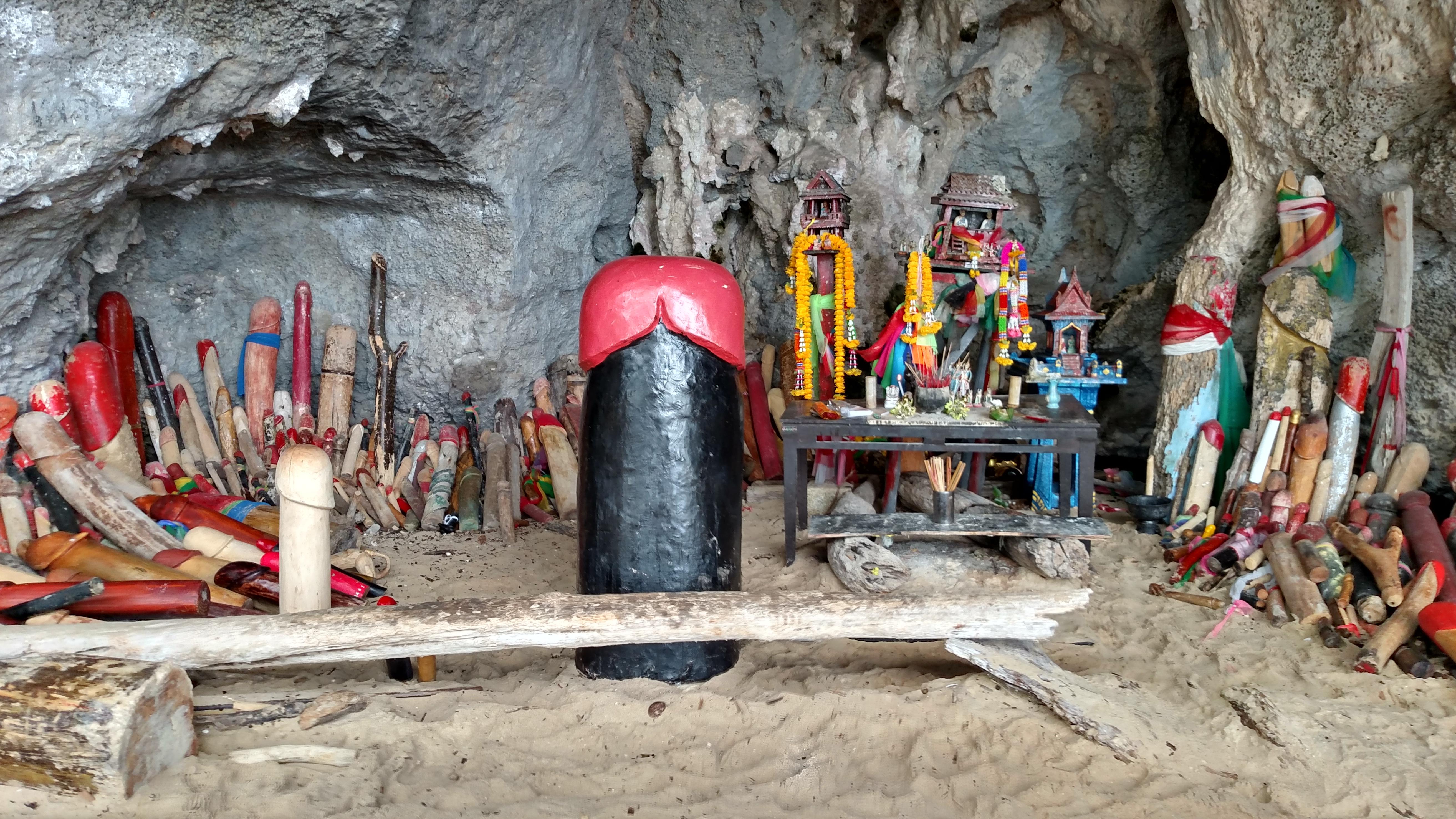 Phranang Cave Beach: a praia dos pintos