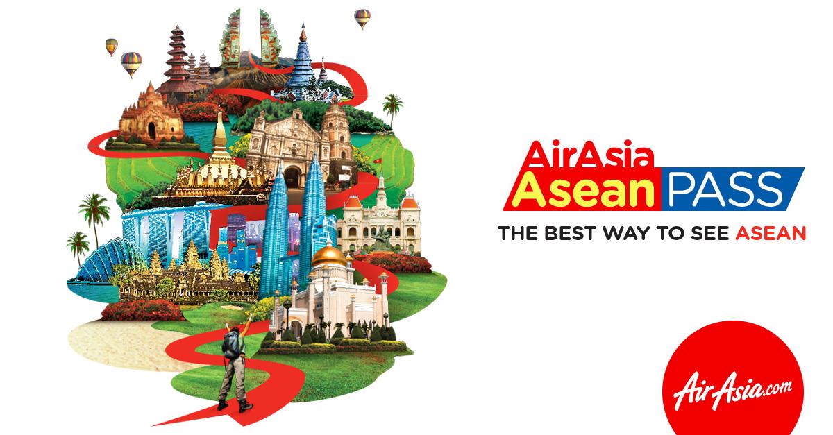 Asean pass da AirAsia: como usar e suas vantagens