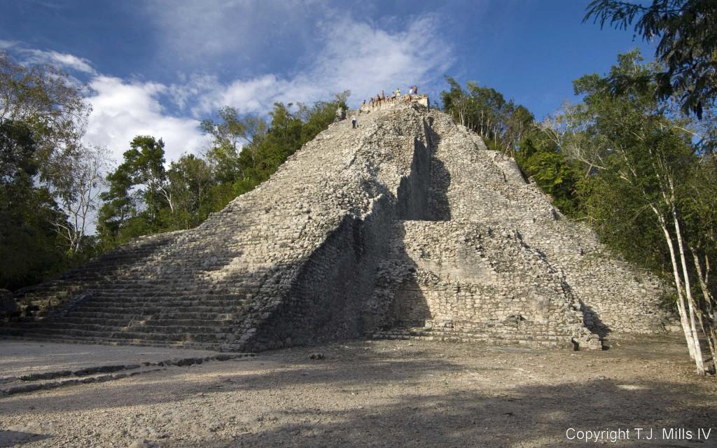 O que fazer em Tulum: sítio arqueológico Cobá