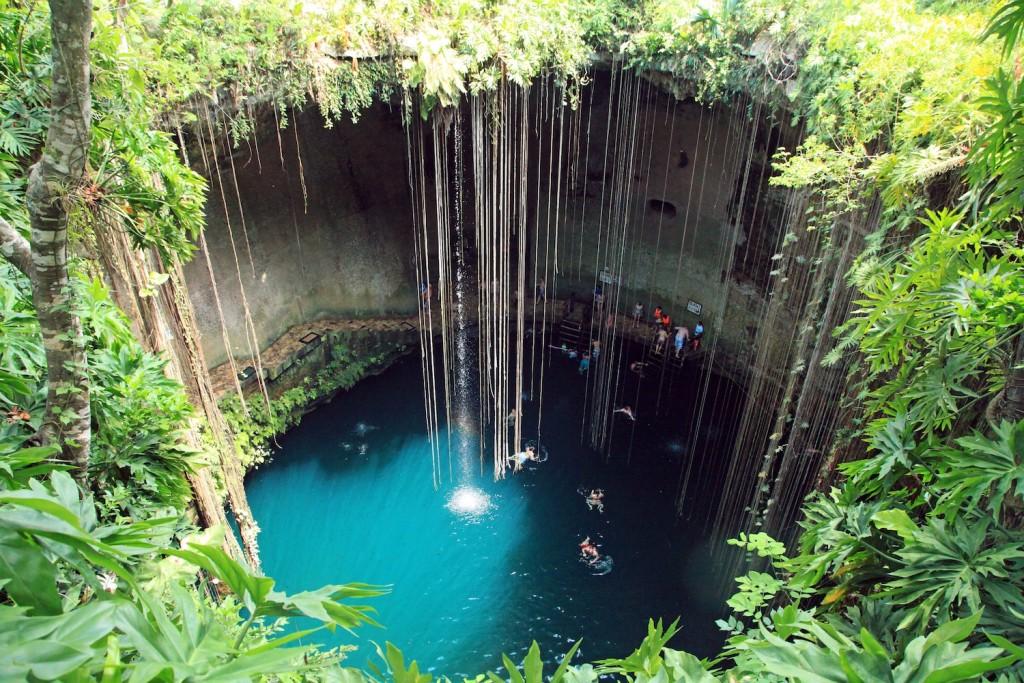 O que fazer em Tulum: Cenote Ik kil