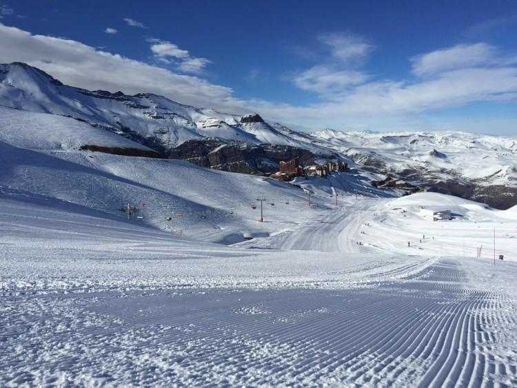 Como saber se vai ter neve no Valle Nevado, Chile
