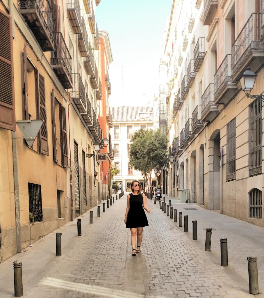 viajar sozinha para madrid espanha