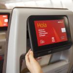 Novas cabines nos voos da Ibéria: mais conforto e entretenimento