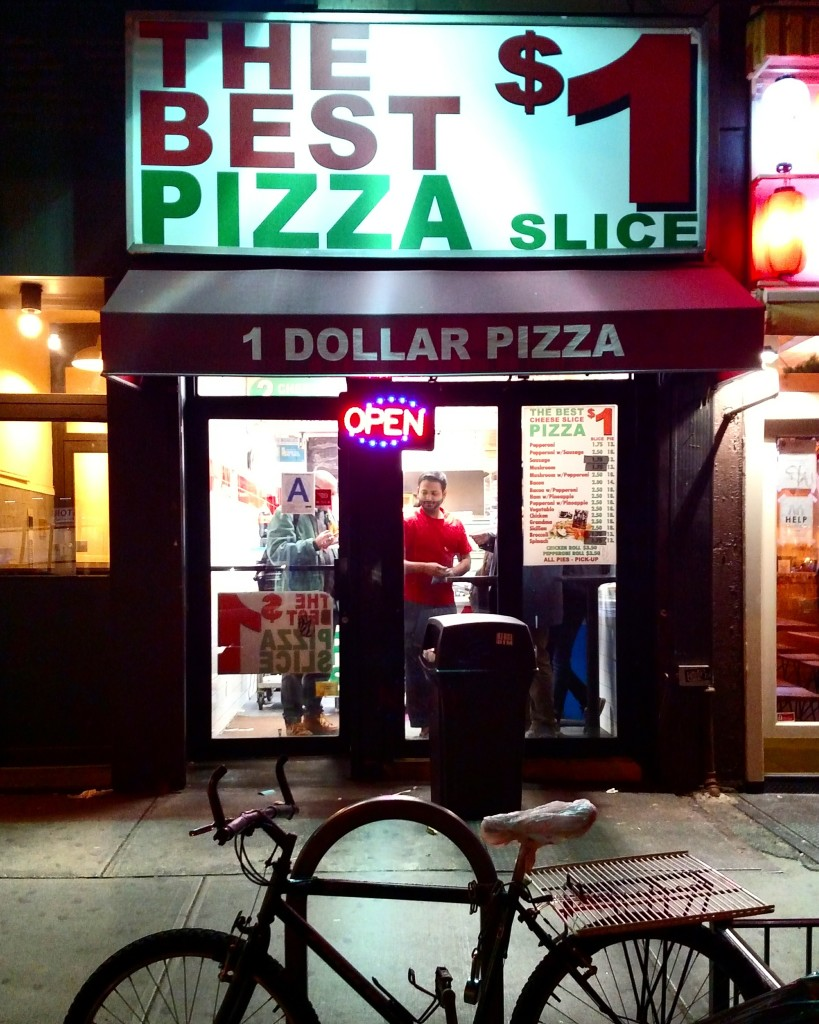 The Best pizza $1 slice, restaurante em Nova York