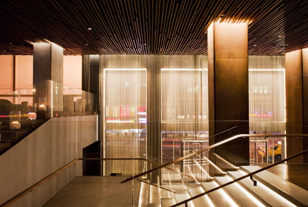 Hall de entrada. Foto de divulgação Row