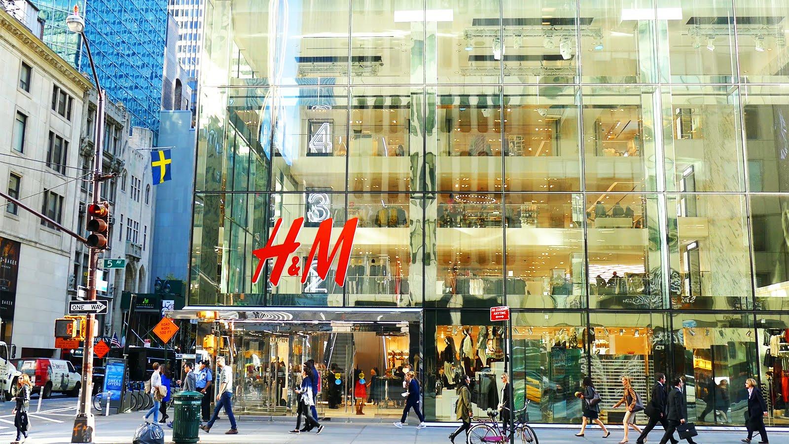 Loja H.M em Nova York