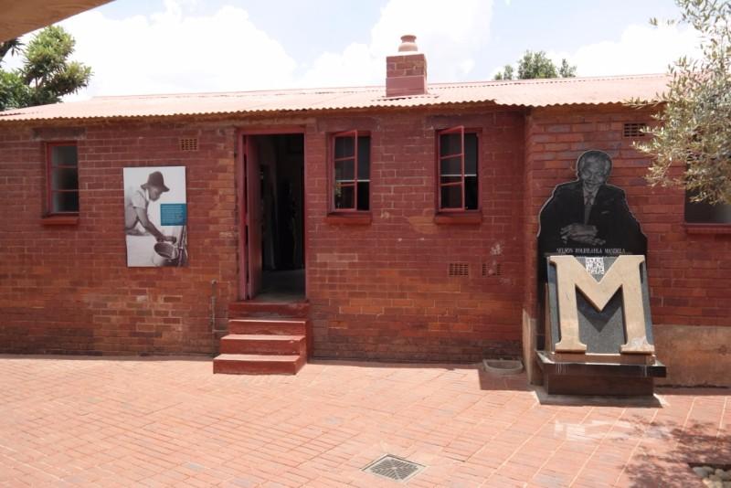 Entrada Casa Nelson Mandela