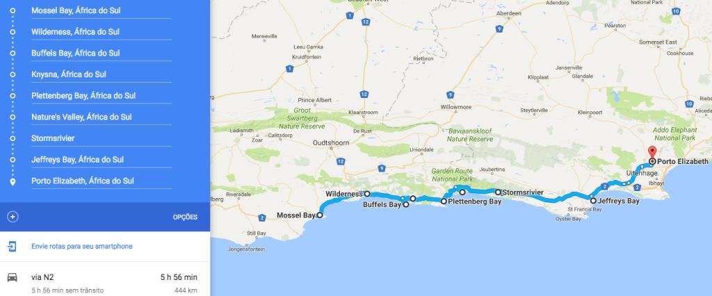 Garden Route Africa do Sul Amanda Viaja