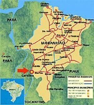 Mapa Maranhão