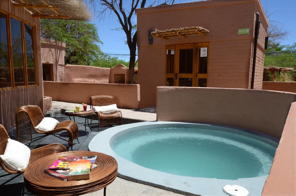 Piscina do Pascual Andino, hotel no Deserto do Atacama