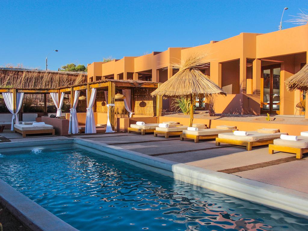 Piscina do Noi Casa Atacama, hotel em San Pedro de Atacama