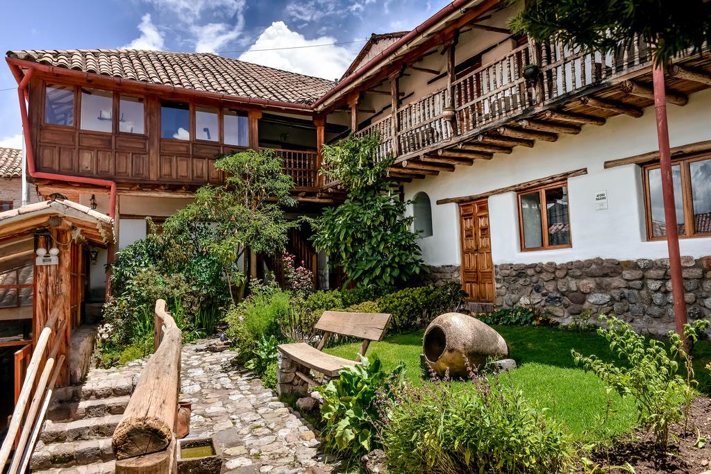 Jardim do Hotel El Balcon em Cusco