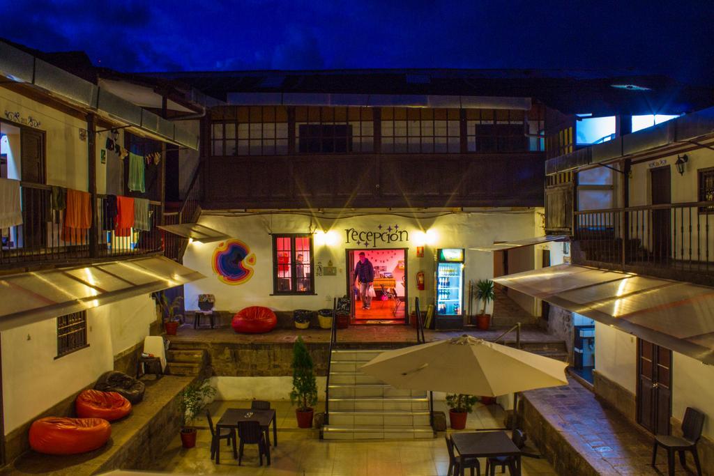 Área de convivência do Magicpacker Hostel em Cusco