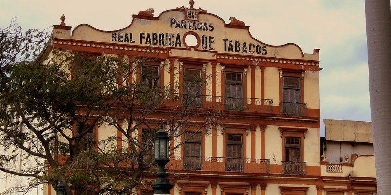 Pontos turísticos de Havana: Partagas Fábrica de Tabacos