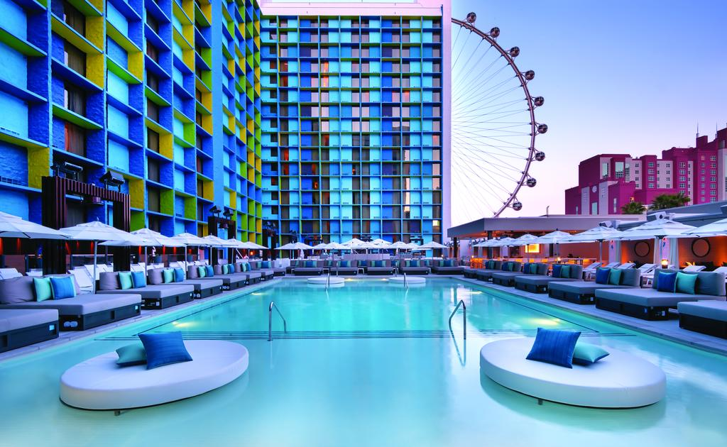 Hotel de preço mediano em Las Vegas