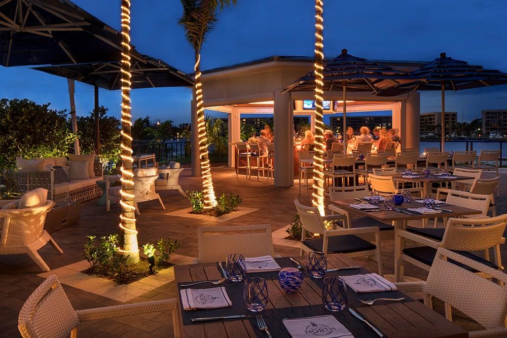 Restaurante em Jupter, na Flórida