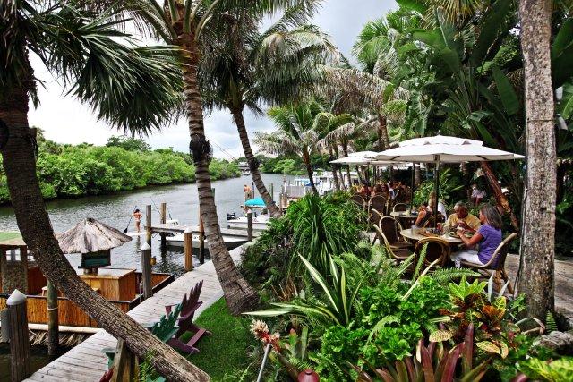 Restaurante em Jupter Beach, na Flórida