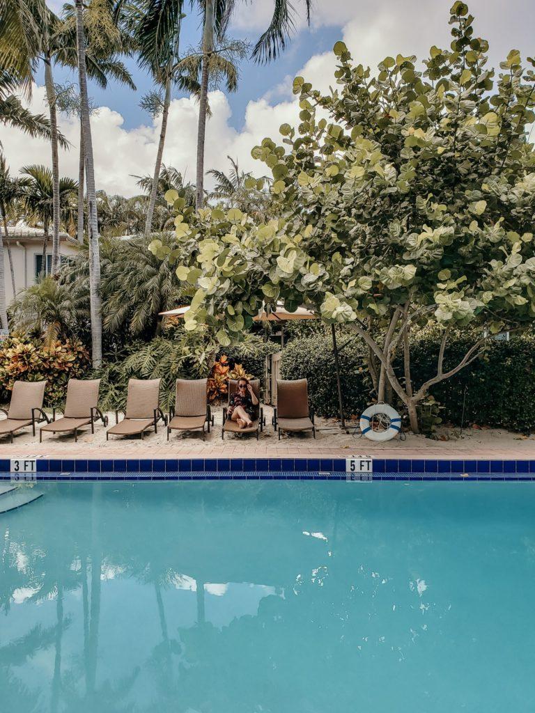 Piscina Crane's Beach House, hotel em Delray Beach, Palm Beachs, Estados Unidos