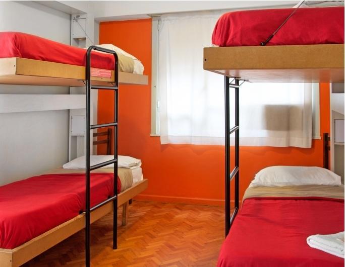 Quarto do Hostel Suite Florida em Buenos Aires