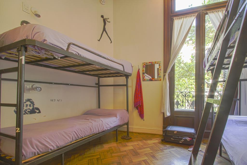 Quarto do hostel Millhouse Hipo em Buenos Aires