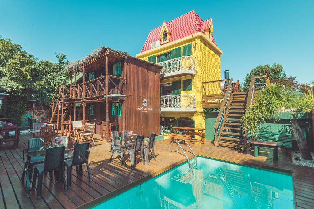 Hostel na Playa Brava, em Punta del Este
