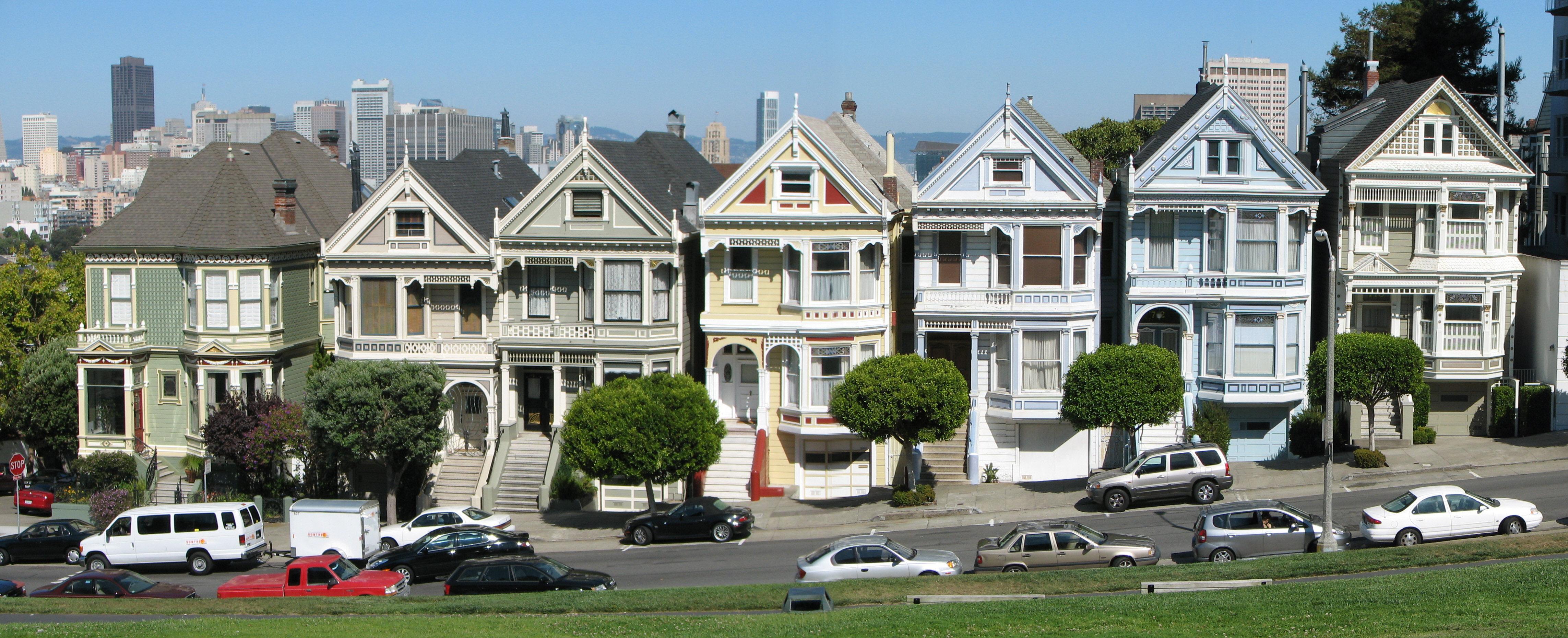 Rua famosa de San Francisco