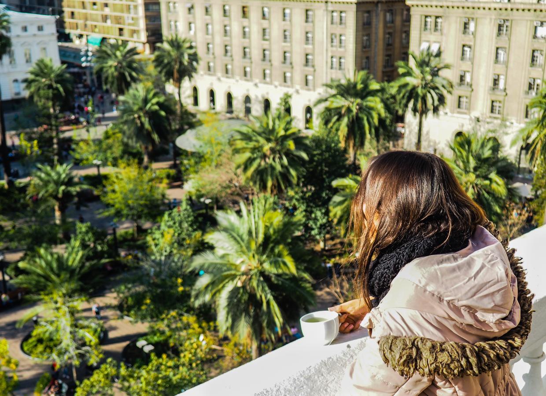 Localização central em Santiago: hostel na Plaza de Armas