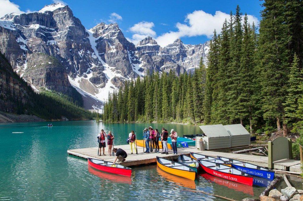 Parque Nacional de Banff, no Canadá