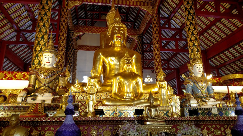 Templo em Chiang Mai, Tailândia