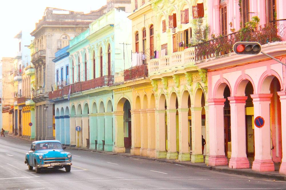 Prédios históricos em Havana, Cuba