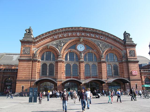 Hauptbanhof, as estações de trem na Alemanha