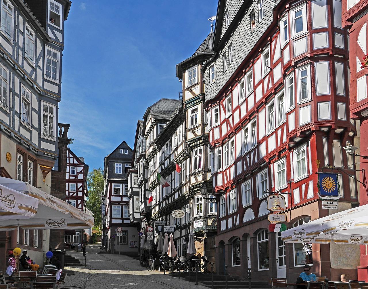 Marburg, na Rota dos Contos de Fada
