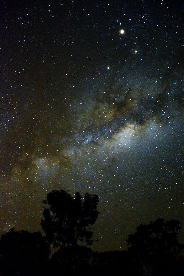 Céu estrelado na Chapada dos Veadeiros