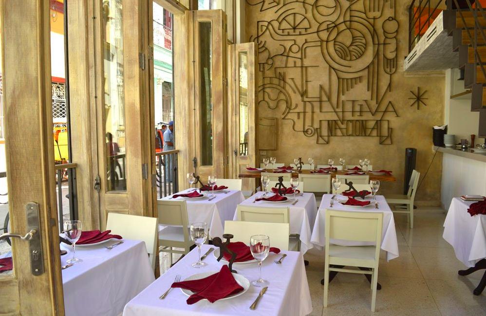 5 Sentidos, restaurante em Havana, Cuba