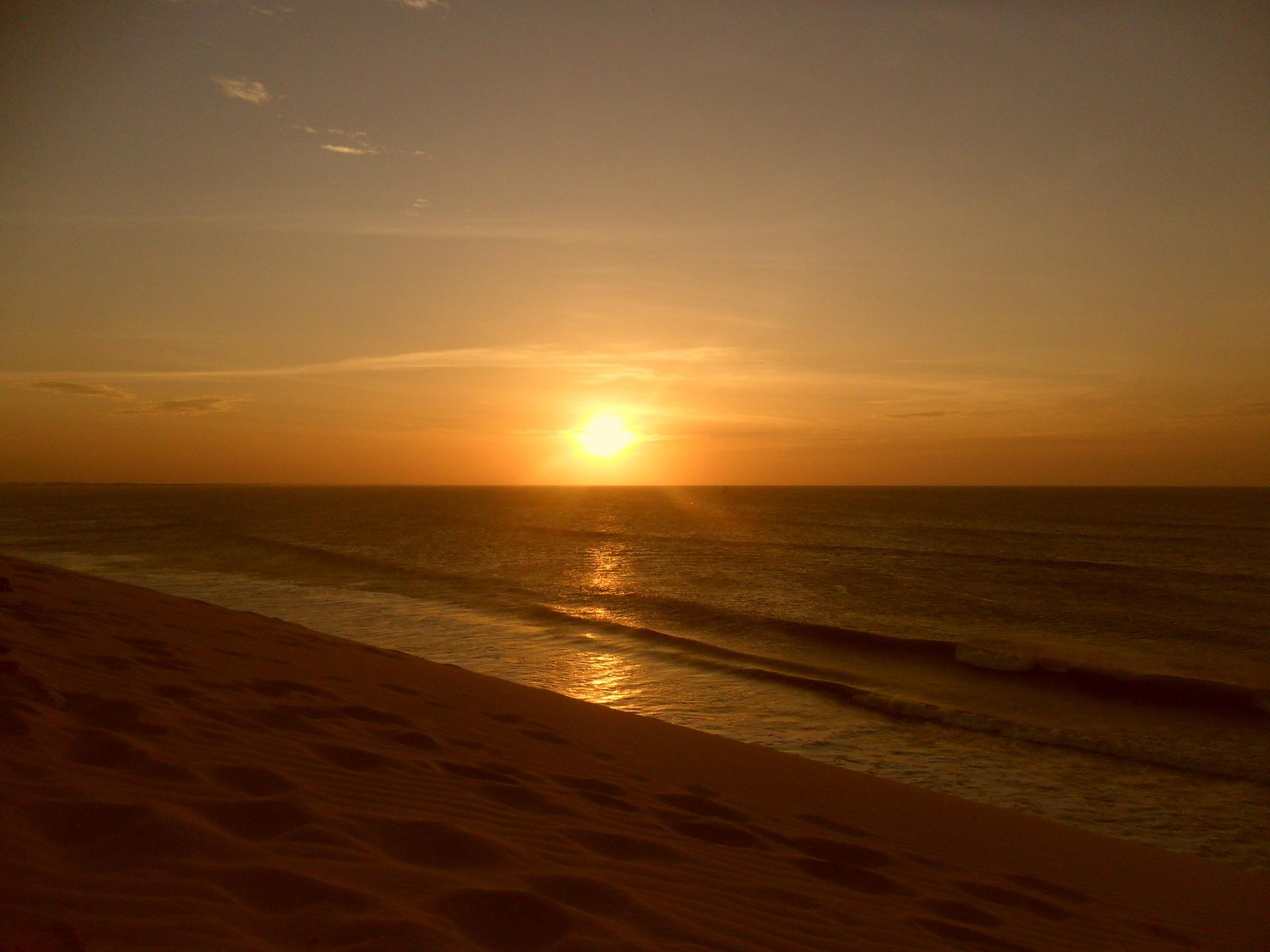 Pôr do sol em Jericoacoara, Ceará