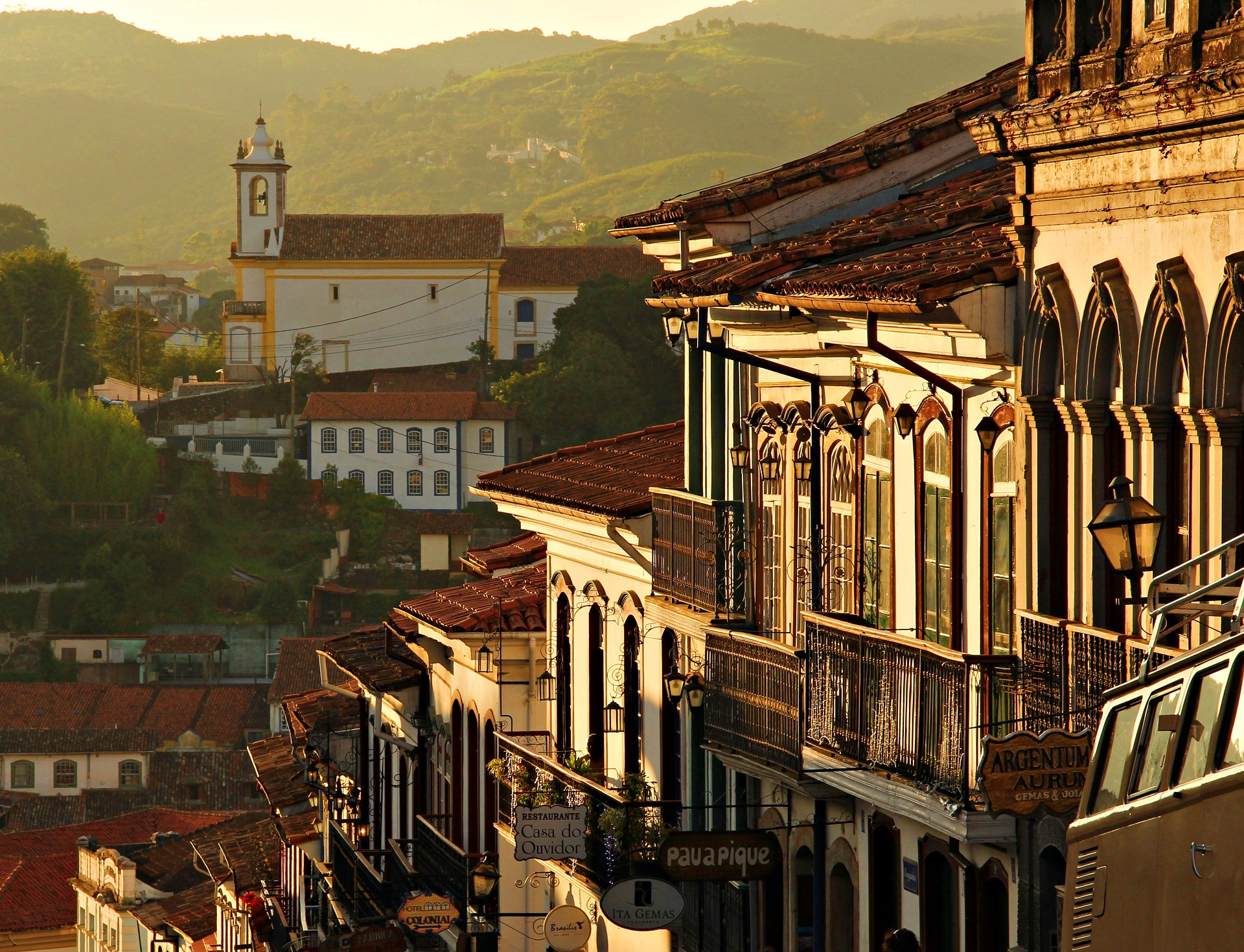 Arquitetura de Ouro Preto, em Minas Gerais