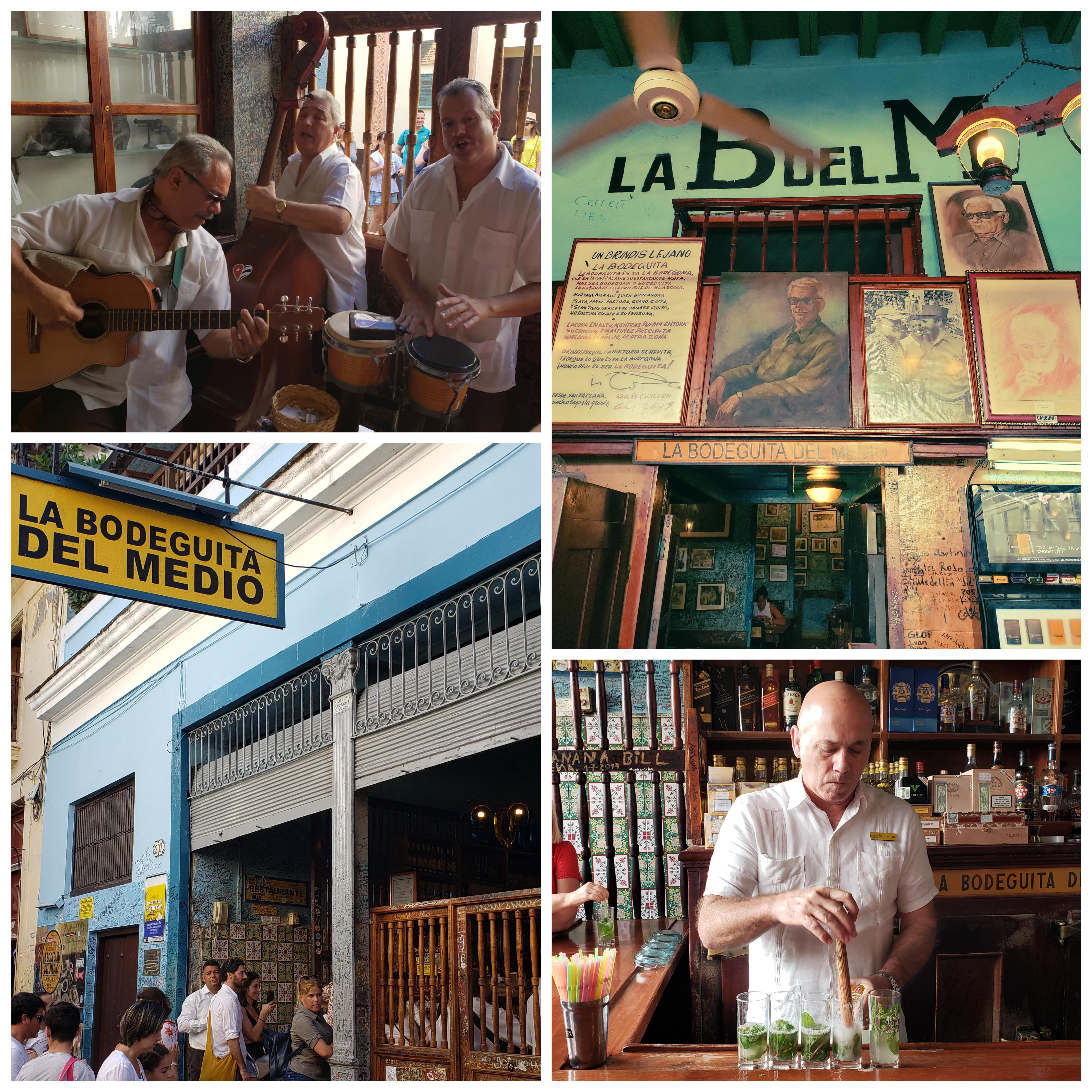 La Bodeguita del Medio, bar em Havana, Cuba