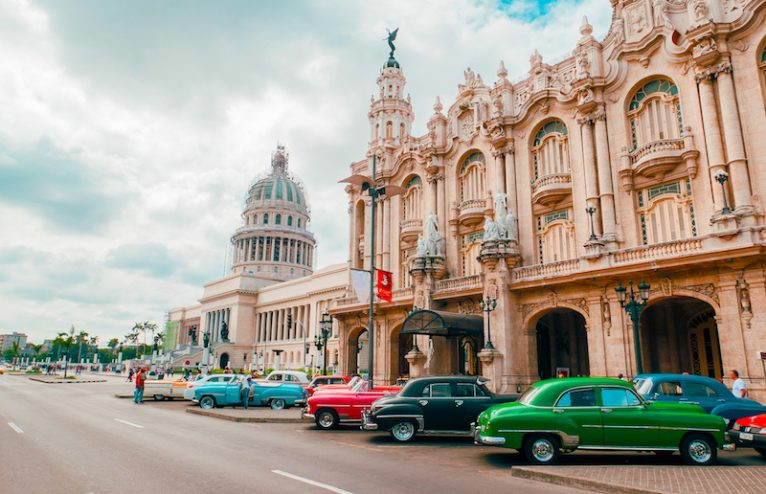 Rua Havana Antiga, Cuba