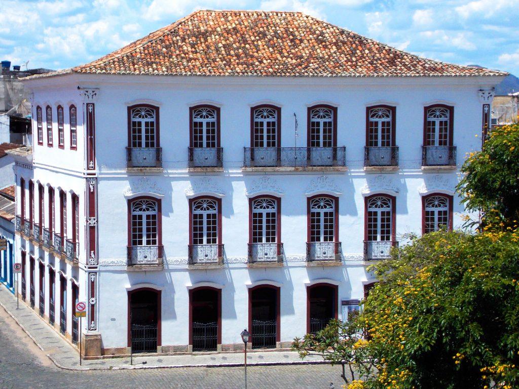 Prédio onde fica o museu regional de São João del Rei, em Minas Gerais