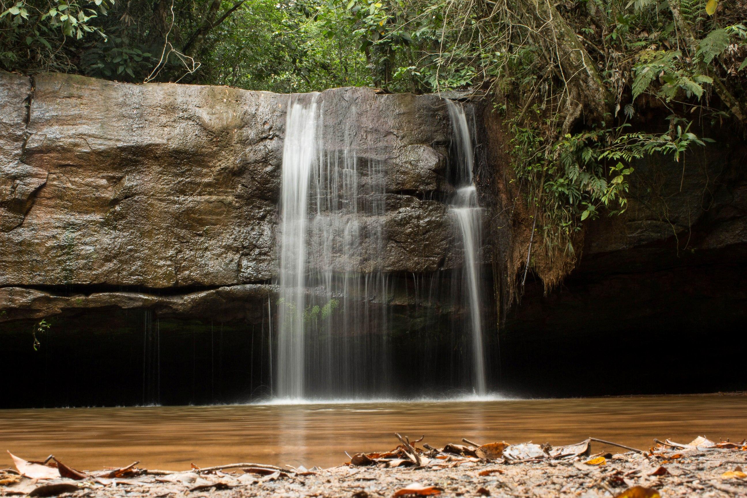 Cachoeirinha no parque nacional da chapada dos guimarães
