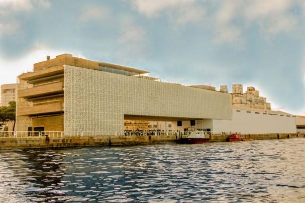 Edifício do Centro Cultural Cais do Sertão Francisco Andrade em Recife Pernambuco