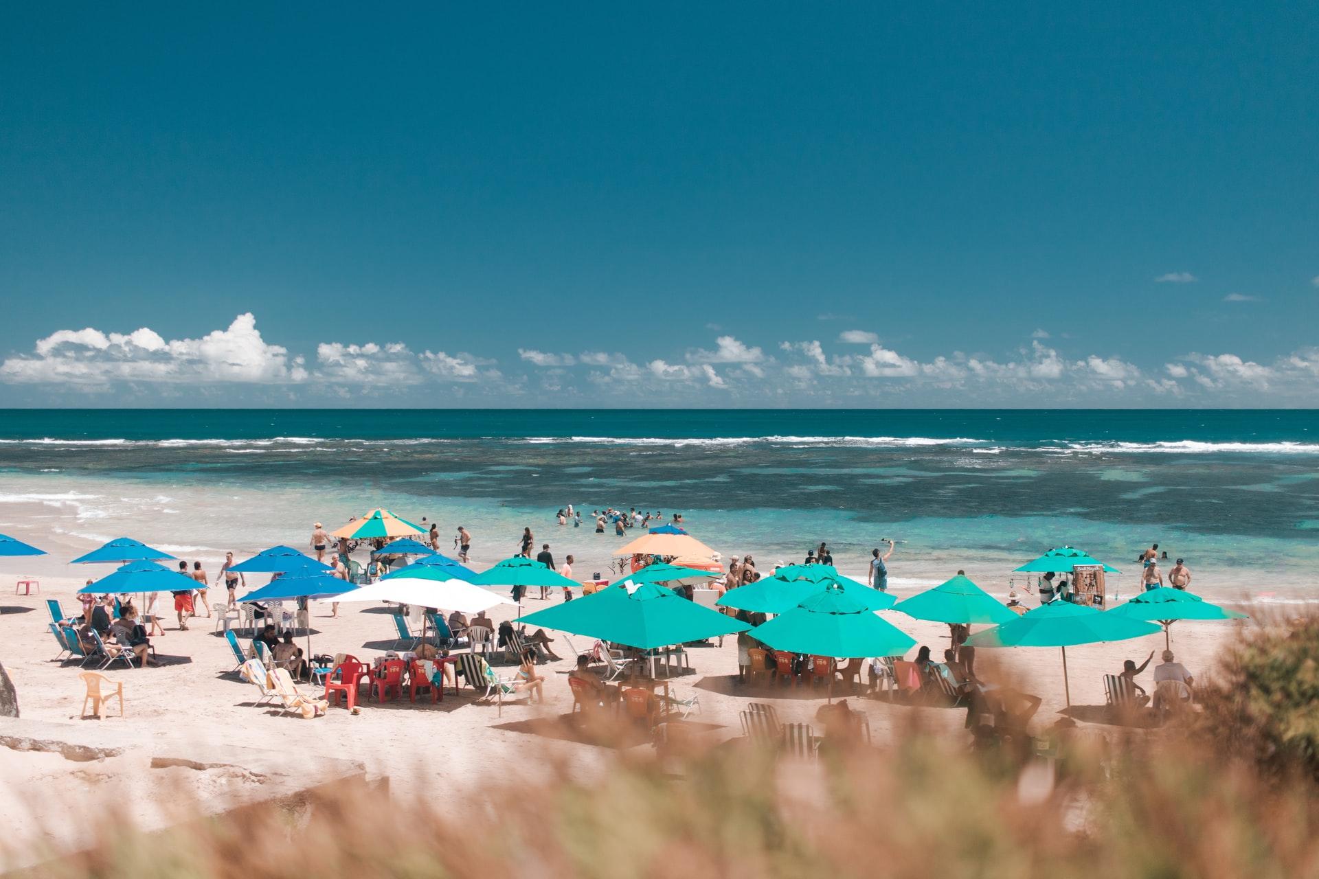 Praia em Porto de Galinhas Pernambuco
