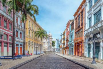 Rua do Bom Jesus em Recife