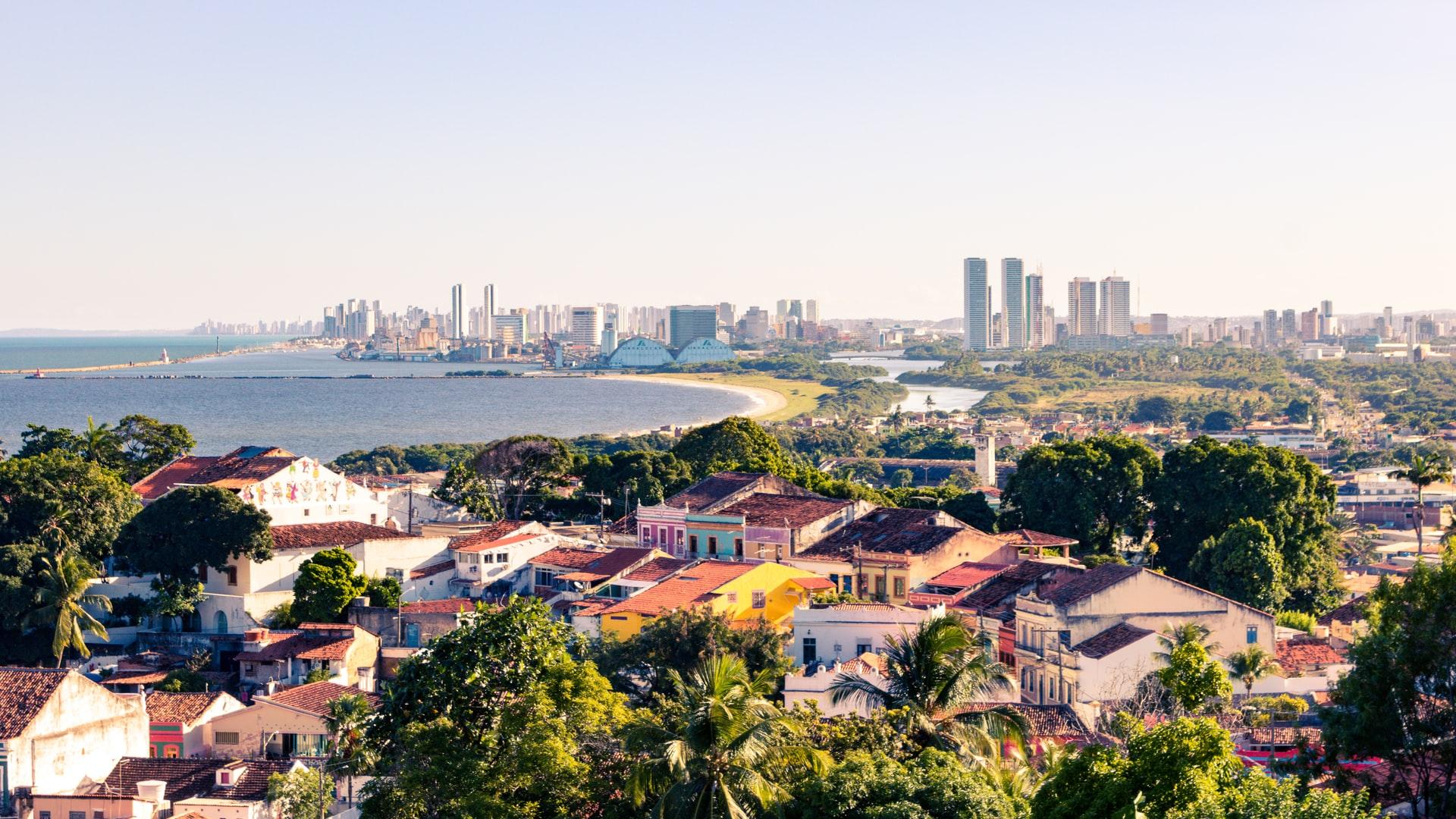 vista de Olinda em Recife